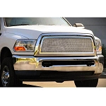 T-Rex Upper Class Series Polished 1-Piece Mesh Grille