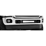 T-Rex Stealth Torch Series Black LED Bumper 1-Piece Grille Bolt-On