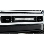 T-Rex Torch Series Black LED Bumper 1-Piece Grille Bolt-On