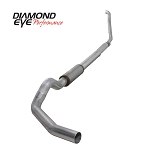 OBS Diamond Eye Stainless 4 Inch Exhaust w/Muffler