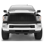 T-Rex Stealth Laser X Series Black 1-Piece Grille Replacement