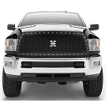 T-Rex Laser X Series Black 1-Piece Grille Replacement