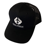 FFD Full Black Trucker Hat