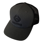 FFD Charcoal | Black Trucker Hat