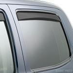 Weathertech Dark Smoke Rear Side Window Deflectors