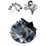 FFD Pedestal Delete + Up Pipes + Billet Compressor Wheel Kit