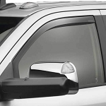 Weathertech Dark Smoke Front Side Window Deflectors
