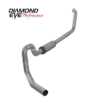 Diamond Eye 4 Inch Turbo Back Al Exhaust - 7.3 Excursion 2001-2002