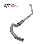 Diamond Eye Exhaust 4 Inch Aluminized TB with Muffler