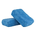 Chemical Guys MIC_292_02 Premium Grade Microfiber Applicator, Blue (Pack of 2)
