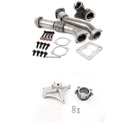 FFD Pedestal Delete & Bellowed Up Pipe Kit - 7.3 Powerstroke 1994-1997