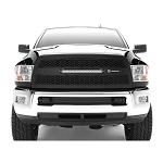 T-Rex Zroadz Series Black LED 1-Piece Grille Replacement