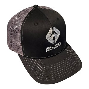 FFD Black - Gray Trucker Hat
