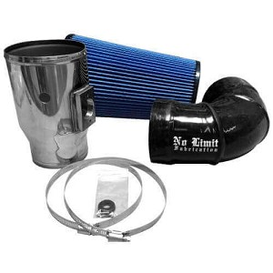No Limit Fab Cold Air Intake - 6.4 Powerstroke 2008-2010