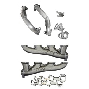 PPE Manifold Upgrade & Up Pipes - LBZ Duramax 2006-2007